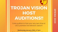 Trojan Vision Host Auditions!