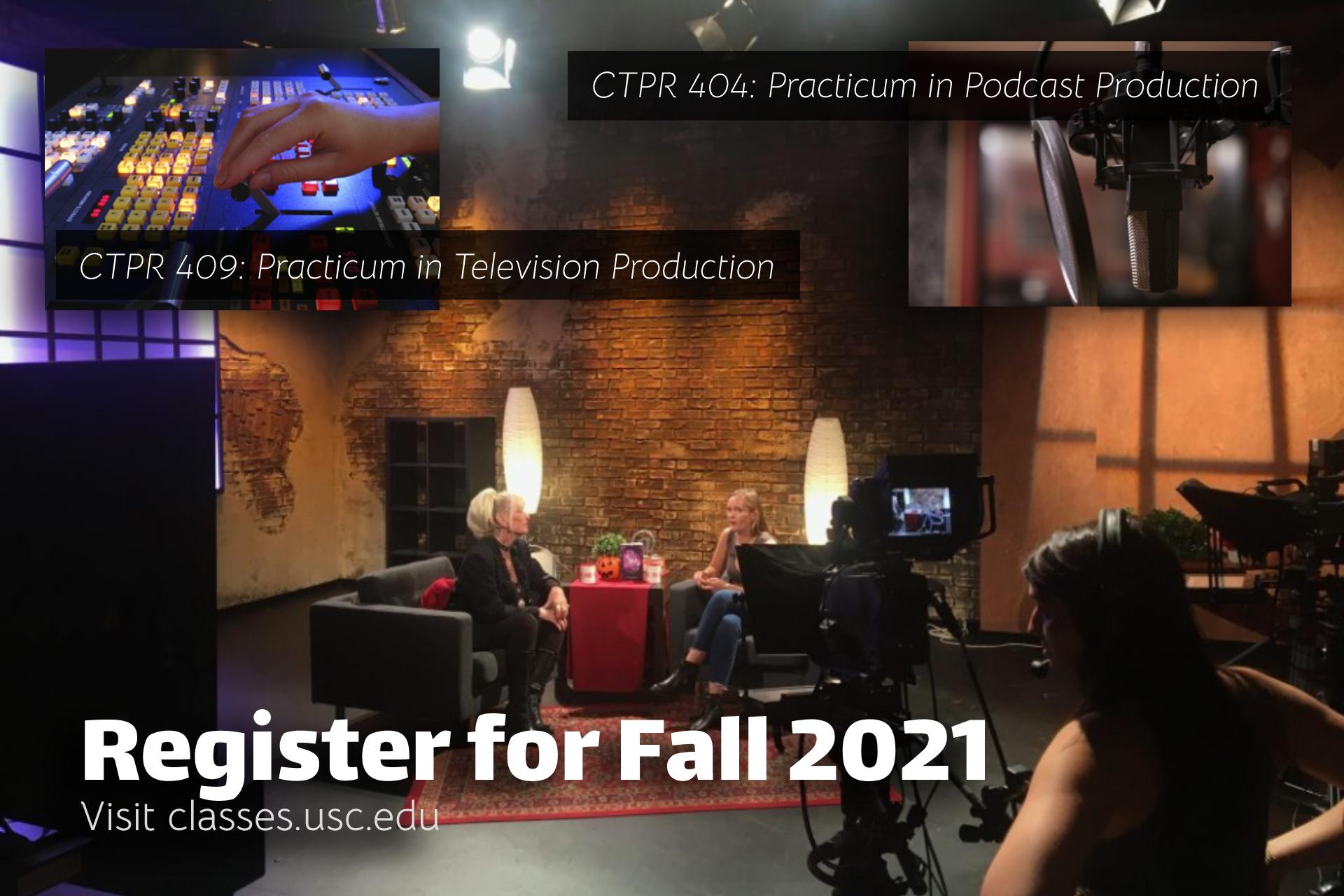 Register Now Fall 2021