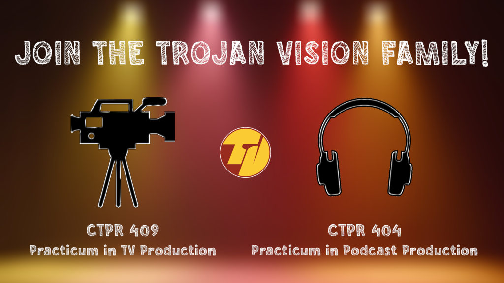 Join the Trojan Vision Family